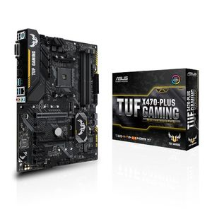 ASUS Tuf X470-Plus Gaming S-AM4 ATX (TUF X470-PLUS GAMING)
