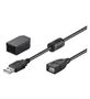 GOOBAY Extension Cable USB2.0 Black 2.0m Factory Sealed