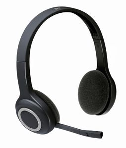 LOGITECH Wireless Headset H600 Cut loose from your PC with wireless audio for your calls and music (981-000342)