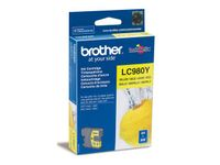 BROTHER LC-980 ink cartridge yellow standard capacity 5.5ml 260 pages 1-pack (LC-980Y)