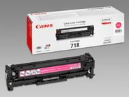 CANON 718 Magenta - Toner - 1 x magenta - 2900 pages - for i-SENSYS LBP7200Cdn,  MF8330CDN,  MF8340Cdn,  MF8350CDN,  MF8360Cdn,  MF8380Cdw (2660B002)