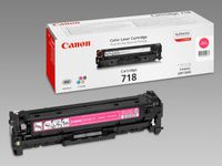 CANON 718 toner cartridge magenta standard capacity 2.900 pages 1-pack (2660B002)