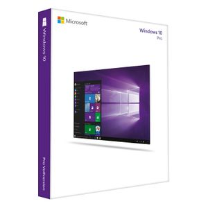 MICROSOFT Windows 10 Pro - Licens - 1 licens - Hente - 32/ 64-bit,  ESD - All Languages (FQC-09131)