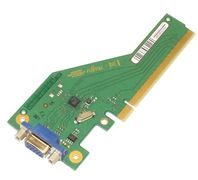 FUJITSU VGA converter chip for integr. INTEL Skylake graphics occupies 1 x PCI-Express x4 (mech. x16) slot