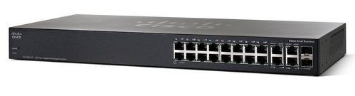 CISCO Switch/ SG350-20 20P Gigabit Managed (SG350-20-K9-EU)