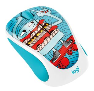 LOGITECH M238 Wireless Mouse Skateburger (910-005052)