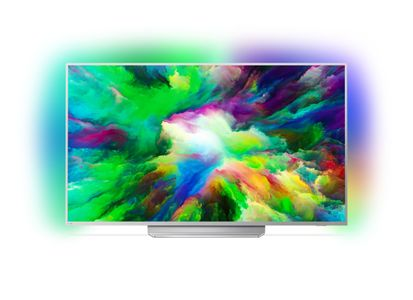"""PHILIPS 49"""", 4K, 1700 PPI, P5, AL 3, HDR +, ANDROID TV (49PUS7803/12)"""