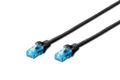 DIGITUS Premium CAT 5e UTP patch cable black 2,0m