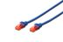 DIGITUS CAT 6 U-UTP PATCH CABLE CU. PVC LENGTH 5M COLOR BLUE CABL