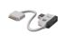 ASSMANN by Digitus Digitus Apple Ladekabel iPad, iPhone, iPod, 19cm med USB hub, hvid