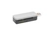 EDNET Ednet USB 2.0 Card Reader, portable, ,  small housing