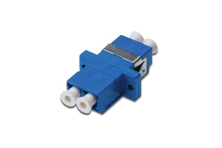 DIGITUS LC / LC DUPLEX COUPLER BLUE COLOR CABL (DN-96007-1)