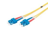 DIGITUS Fiber Optic Patch Cord, duplex SM 9/125 SC / SC 2m