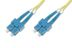 DIGITUS Fiber Optic Patch Cord, duplex SM 9/125 SC / SC 3m