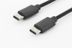 DIGITUS USB CABLE TYPE C TO C M/M 1.0M HIGH-SPEED UL BL CABL