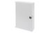 DIGITUS Small Optical Termination Box, 200x150x55,  mm with single door, without adapter plate, color, grey
