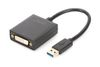 DIGITUS ADAPTER USB3.0 TO DVI OUT DVI UP TO 1080P ACCS (DA-70842)