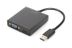 DIGITUS ADAPTER USB3.0 TO HDMI/VGA SINGLE/ DUAL OUT 1080P ACCS