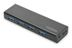 EDNET Hub 4-port USB 3.0 SuperSpeed,  Power Supply, black