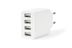 EDNET USB Charging Adaptor 4-Port White Factory Sealed