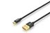 EDNET USB 2.0 HighSpeed reversible Connection Cable USB A M /microUSB B M 1m black