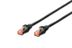 DIGITUS PREM. CAT 6 PATCH CABLE S-FTP, 3,0M, BLACK CABL