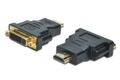 Wentronic DVI-Digital Monitoradapter,  DVI hun : HDMI 19 pin han