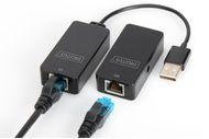 DIGITUS USB EXTENDER USB 2.0 USE W.CAT5 5E 6 UTP STP OR SFT CTLR