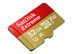 SANDISK MicroSDHC Extreme 32GB+Adap Rescue Pro Deluxe 100MB/s A1 C10 V30 UHS-I U3