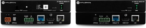 Atlona 4K HDR Transmitter and Receiver Set w/IR, RS-232, Ethernet, and PoE (AT-HDR-EX-100CEA-KIT)