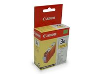 CANON BCI-3EY ink cartridge yellow standard capacity 13ml 300 pages 1-pack (4482A002)