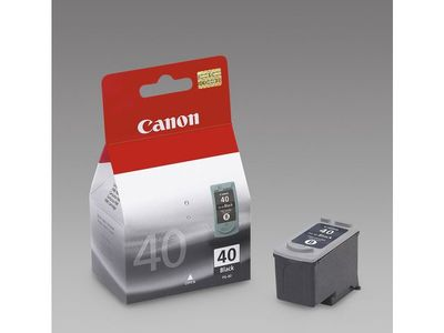 CANON PG-40 ink cartridge black standard capacity 16ml 420 pages 1-pack (0615B001)