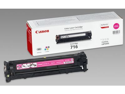 CANON 716 toner cartridge magenta standard capacity 1.500 pages 1-pack (1978B002)