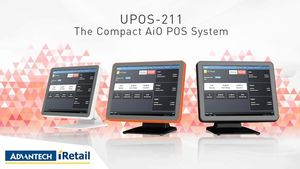 ADVANTECH UPOS-211 All-In-One-Touch-POS (UPOS-211DP-WST61)
