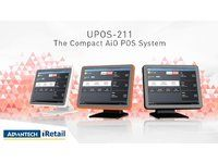 ADVANTECH UPOS-211 All-In-One-Touch-POS (UPOS-211DP-BST30)