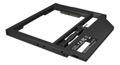 "RAIDSONIC Adapter for 2.5"" HDD/SSD in 9-9.5 mm Notebook DVD bay, with screwdrive"