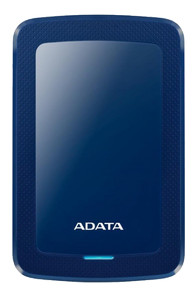 A-DATA ADATA AHV300 4TB External HDD USB3.1 Blue (AHV300-4TU31-CBL)