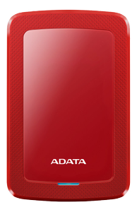A-DATA AHV300 1TB External HDD USB3.1 Red (AHV300-1TU31-CRD)