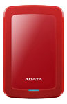A-DATA ADATA AHV300 1TB External HDD USB3.1 Red (AHV300-1TU31-CRD)