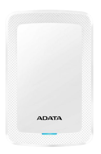A-DATA ADATA AHV300 4TB External HDD USB3.1 White (AHV300-4TU31-CWH)