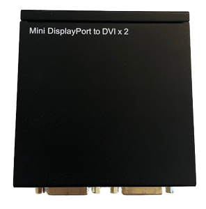 DELTACO Mini DP port to 2Xdvi (MDP-2XDVI)