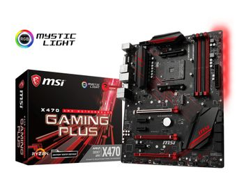MSI X470 Gaming Plus S-AM4 ATX (X470 GAMING PLUS)