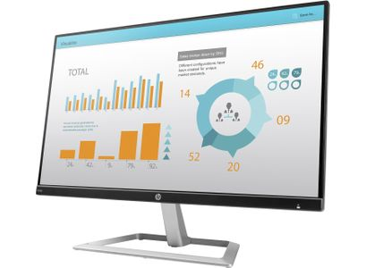 HP N240 23.8-inch Monitor 3ML21AA (3ML21AA#ABB)