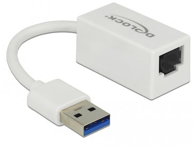 DELOCK Adapter SuperSpeed USB (USB 3.1 Gen 1) with USB Type-A male > Gigabit (65905)