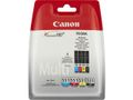 CANON CLI-551 ink cartridge black and tri-colour standard capacity combopack blister without alarm