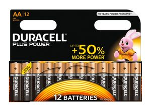 DURACELL Plus Power AA 12 Pack (MN1500B12)