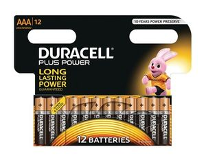 DURACELL AAA Plus Power (12 pack) (MN2400B12)
