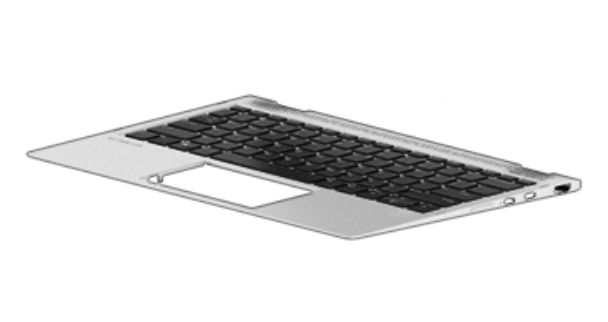 HP Top Cover & Keyboard (Fance) (937419-051)