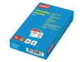 STAPLES Laminat STAPLES 99x67mm 125micm 100/pk.
