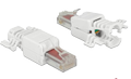 DELOCK RJ45 plug Cat.6 UTP toolfree 2 pieces